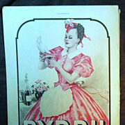 "ORIGINAL ""BYRRH""  Aperitif Advert  From L ' Illustration French Magazine  November 1938"