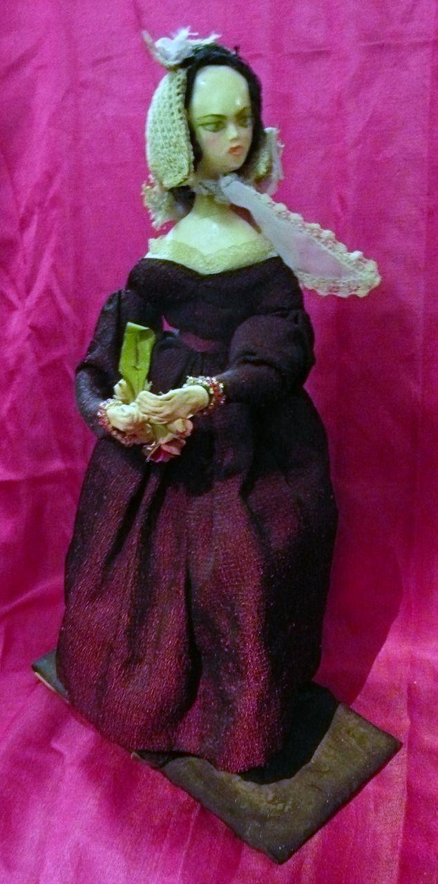 English Victorian Wax Doll Circa 1836