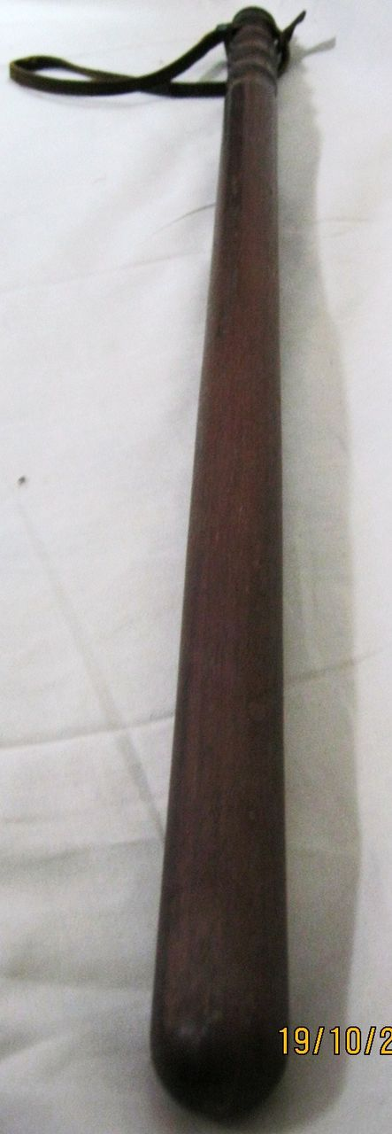 Vintage Mounted Police Long Baton / Truncheon