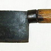 Whitehouse & Sons Meat Cleaver Circa 1900