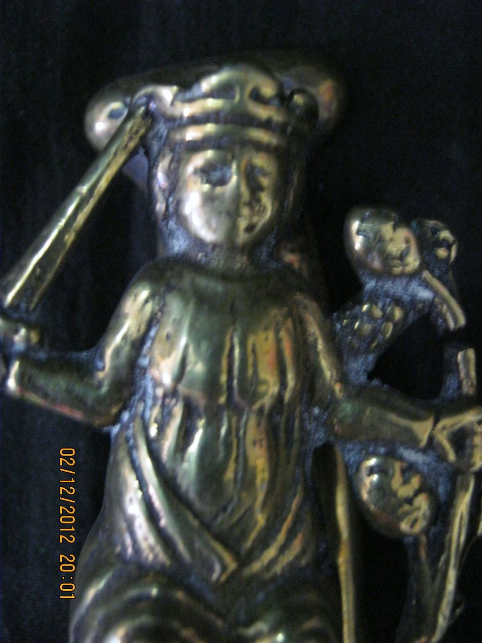 Old 'Edward The Confessor' Door Knocker Circa 1910