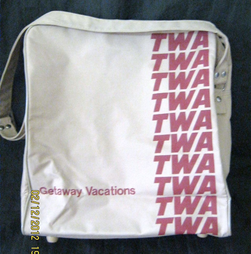 TWA Airlines Cabin Bag