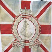 Large Original Antique Flag  of Queen Victoria