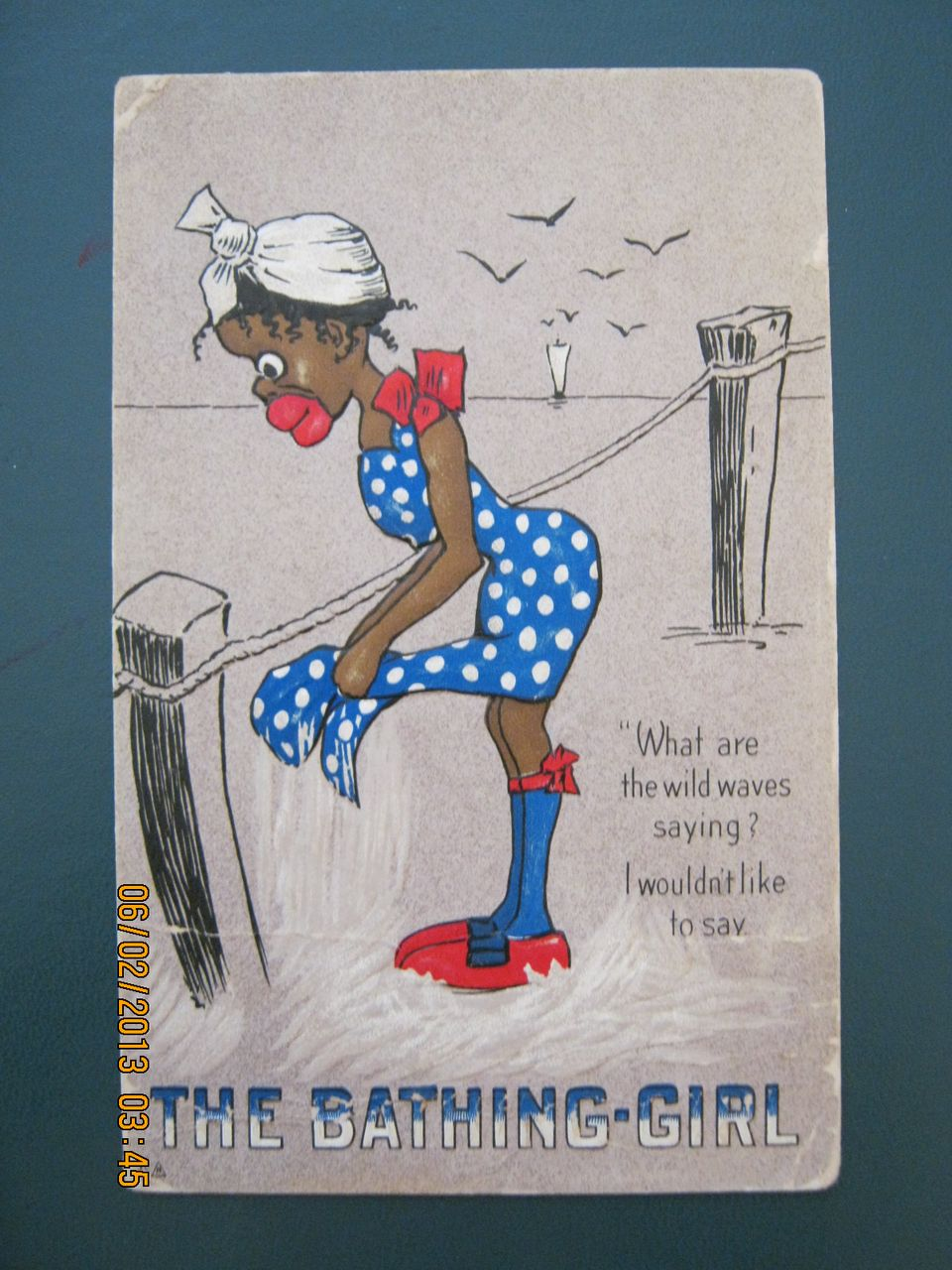 Black Americana - The Bathing Girl