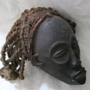 "African CHOWKE Tribal  ""Mwana Pwo"" Mask  - Circa 1940 - 1950"