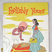 "AIR INDIA  - ""Foolishly Yours"" Booklet"