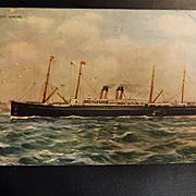 S.S. Celtic White Star Liner 'Celebrated Liners' Series