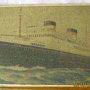 Britannic Cunard White Star Liner