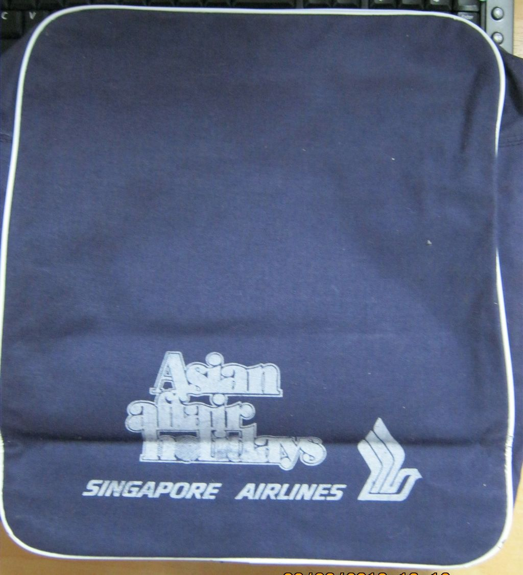 Singapore Airlines 'Asia Pacific' Cabin Bag