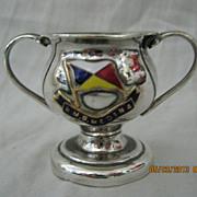 Rare R.M.S. Medina Souvenir Small Trophy Cup
