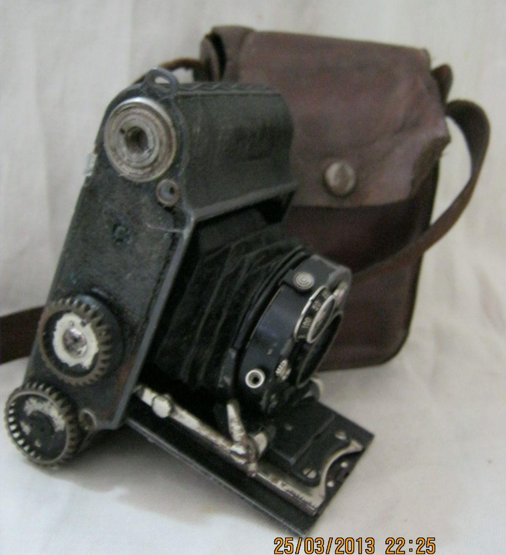 Voigtlander PERKEO 3X 4 Camera With Anastigmat Skopar Lens 1930's