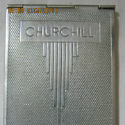 "Art Deco ""Churchill"" Note Pad"