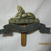 WWI British Army  Badge -  Royal Lincolnshire Regiment