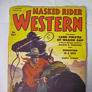 Masked Rider Western - May 1951
