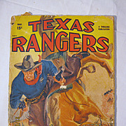 Texas Rangers Western - May 1949