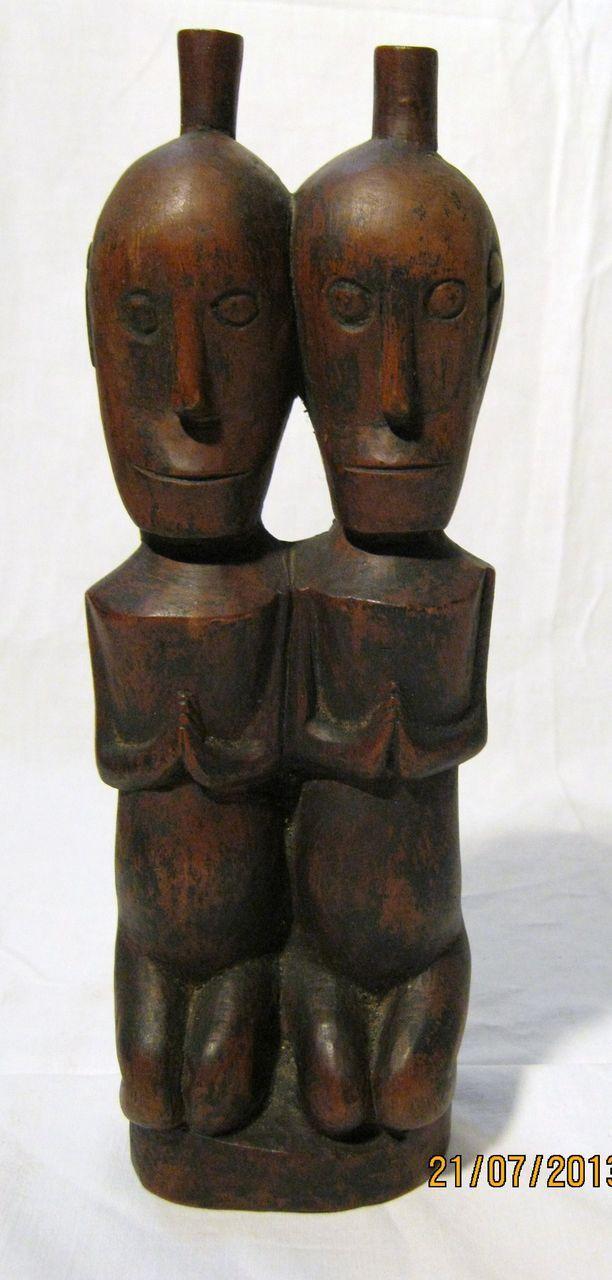 DAYAK  Figurine - Borneo - Indonesia - Circa 1900- 1920