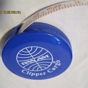 PAN AM Airlines Souvenir Tape Measure