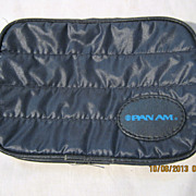 PAN AM Airlines Souvenir  Toilet Bag