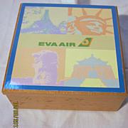 EVA Air Souvenir Trinket Box