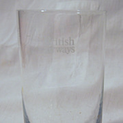 British Airways Glass Tumbler