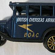 BOAC Airlines Souvenir Corgi BUS