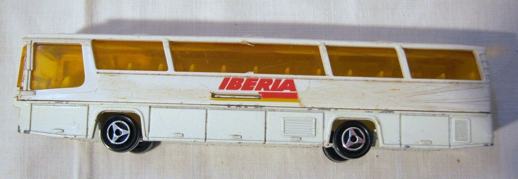 Iberia Airlines Promotional Toy Bus Antique Goodies Ruby Lane