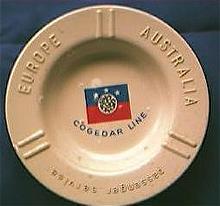Cogedar Line Advertising Ashtray