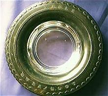 Goodyear Eagle Advertising Tyre Ashtray