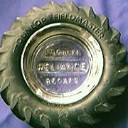 Dunlop Fieldmaster Advertising Tyre Ashtray
