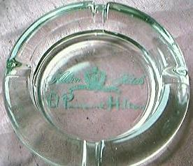 Hotel El Panama Hilton Advertising Ashtray