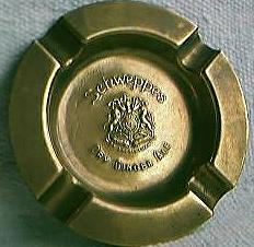 Schweppes Ashtray