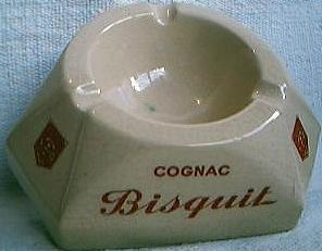 Biscuit Cognac Ashtray