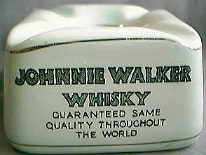 Johnnie Walker Tub Ashtray