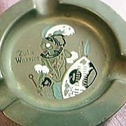 Zulu Warrior Souvenir Ashtray