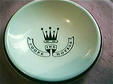 Coope Ind Hotels Advertising Ashtray