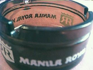 Manila Royal Hotel Advertising Ashtray