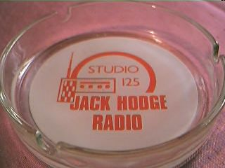 Jack Hodge Radio Advertising Ashtray