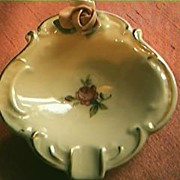 Petite German Porcelain Ashtray