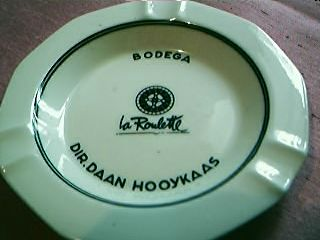 Bodega La Roulette Advertising Ashtray