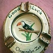 Chessington Zoo Souvenir Ashtray