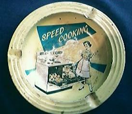 Speed Cooking Brand Advertising Ashtray