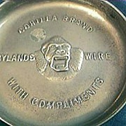 Gorilla Brand Advertising Ashtray