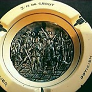 Old Jewellers Advertising Ashtray