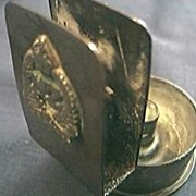 World War 11 Trenchart  Ashtray
