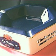 Rothmans Tobacco Advertising Ashtray