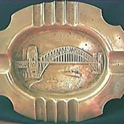 Sydney Harbour Bridge Brass Souvenir Ashtray