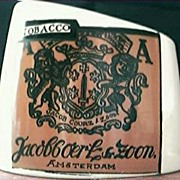 "Crown Lynn ""Jacob Courz & Zoon  Tobacco Ashtray"