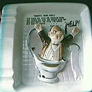 HELP!  Risque Humour Ashtray