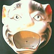 Wild Cat Big Mouth Ashtray