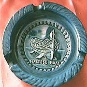 Maltese Souvenir Ashtray
